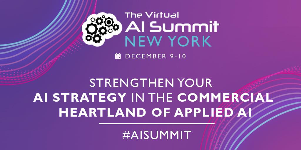The Virtual AI summit New York